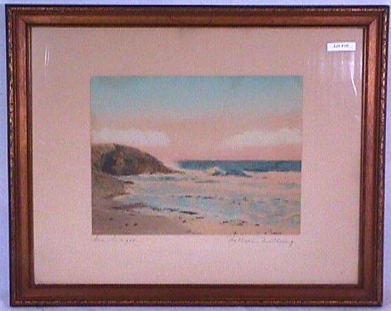 10: Wallace Nutting - Sea Ledges