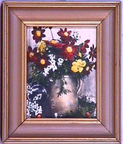 20: Wallace Nutting - Floral Miniature