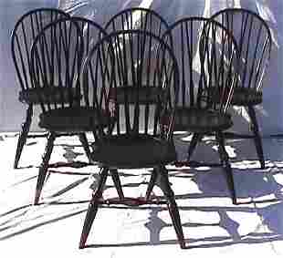 325: Wallace Nutting - Six #301 Side Chairs