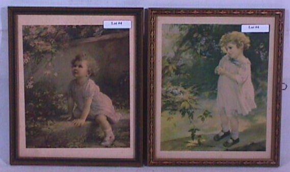 4: Zula Kenyon - Lot of Two Little Girl Prints