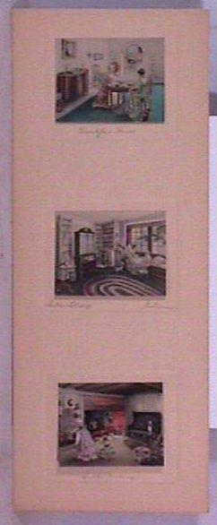 20: Bessie Pease Gutmann - Rare Colonial Triptych