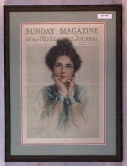 23: Philip Boileau - 1914 Sunday Magazine Cover