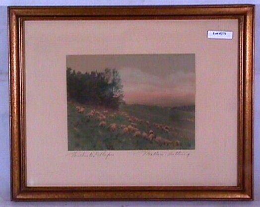 270: Wallace Nutting - Wilburton Slopes - Rare Sheep