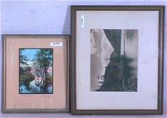 455: Wallace Nutting & Burrowes Two Picture Lot