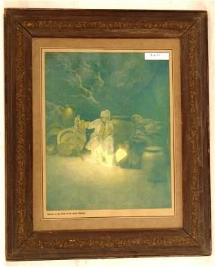 Maxfield Parrish -Cassim in the Cave