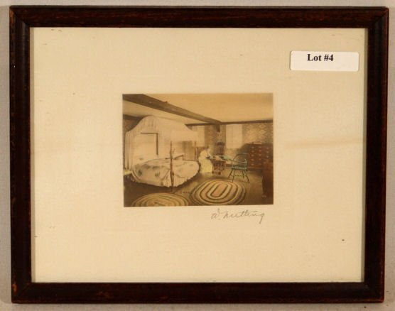 4: Wallace Nutting - Untitled Interior Scene