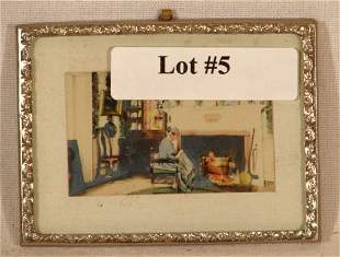 Fred Thompson - Interior in Thin Metal Frame