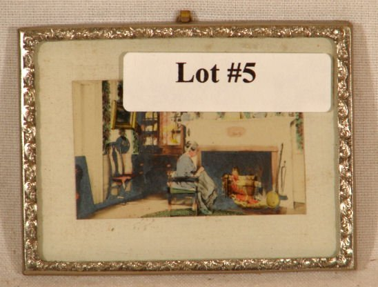 5: Fred Thompson - Interior in Thin Metal Frame