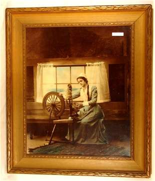 Photographer Unknown - Girl Spinning