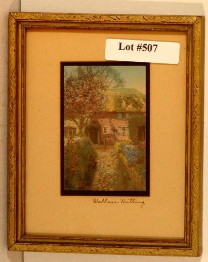 507: Wallace Nutting - Miniature England Scene