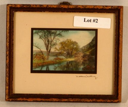 2: Wallace Nutting - Miniature Exterior Scene