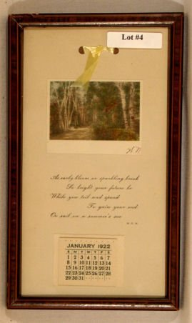 4: Wallace Nutting - 1922 Calendar