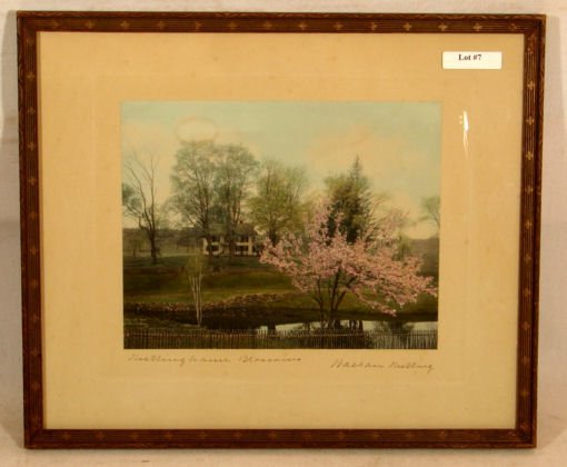 7: Wallace Nutting - Nuttinghame Blossoms