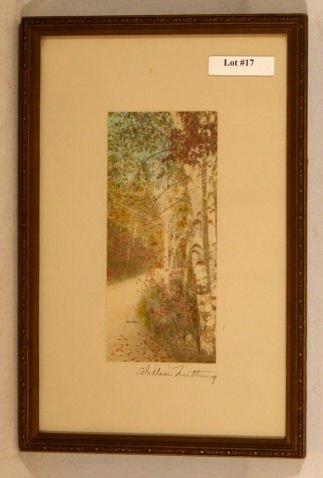 17: Wallace Nutting - Untitled Exterior Scene