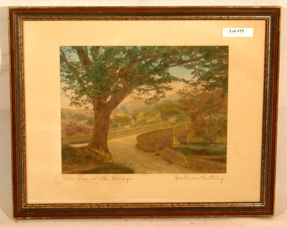 19: Wallace Nutting - The Tree at the Bridge