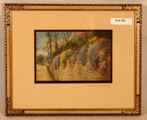 21: Wallace Nutting - Untitled England Scene