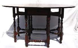 230: Wallace Nutting - #621 Maple Gateleg Table