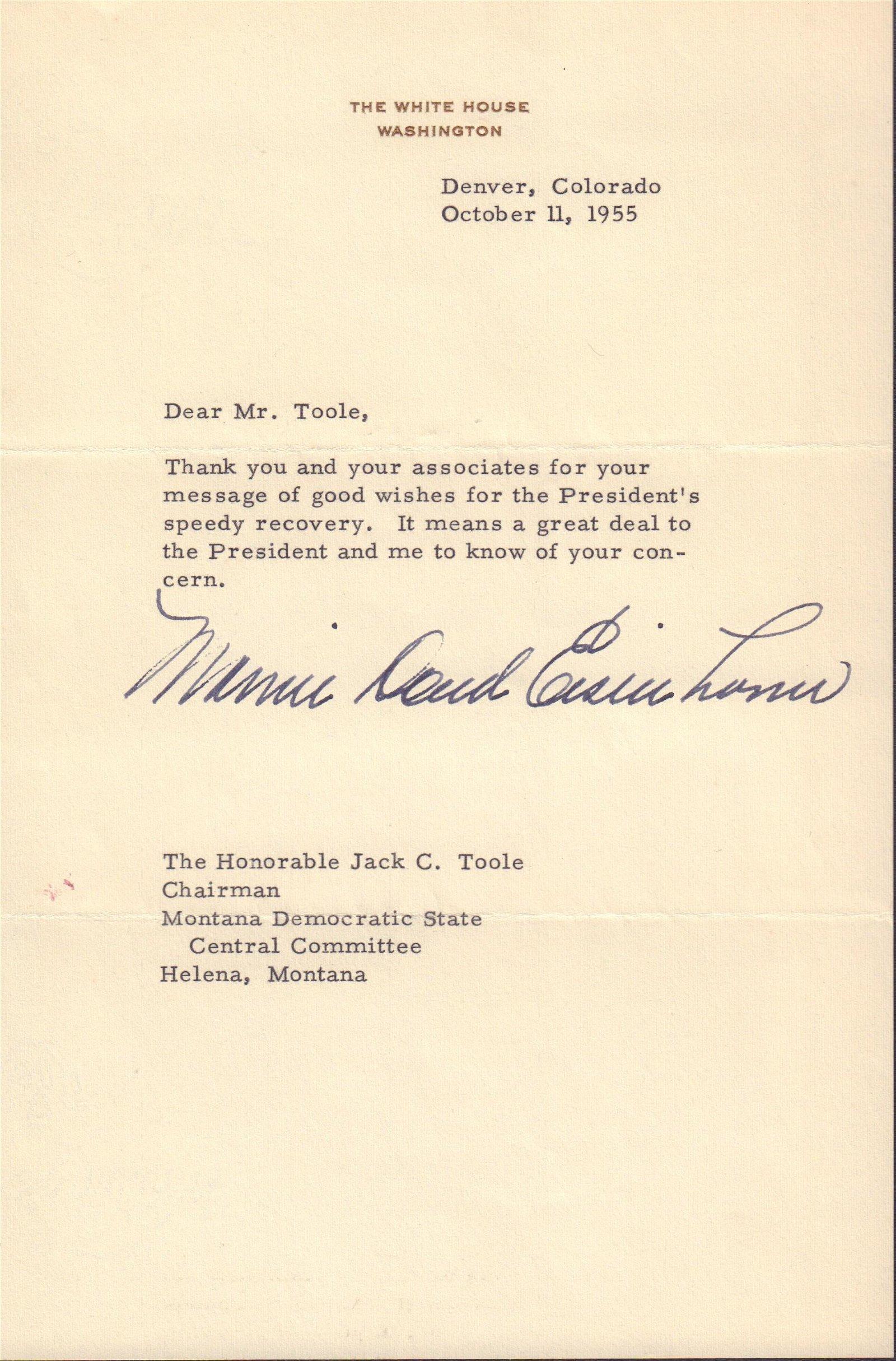 Mamie Doud Eisenhower