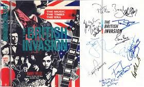 British Invasion signed book