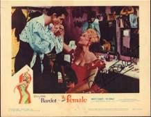 Brigitte Bardot Le Fem Lobby card