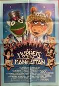 Muppets Take Manhatten poster