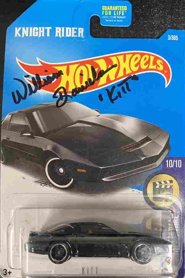William Daniels Knight Rider Hot Wheels