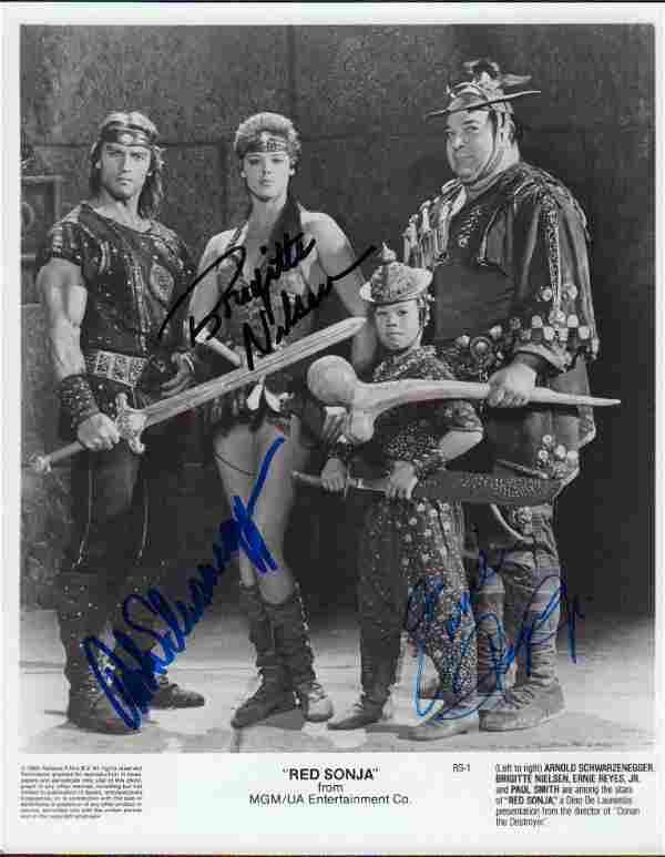 Red Sonja cast