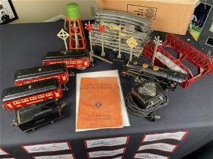 1930 Lionel Train set with manual