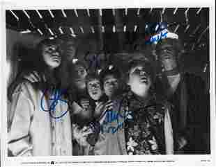 Goonies cast signed photograph