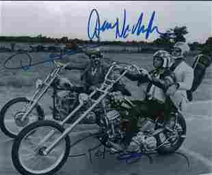 Easy Rider cast signed photograph