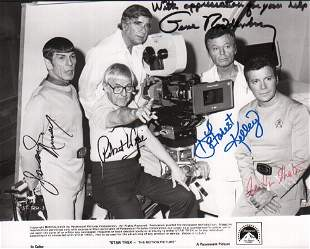 Star Trek the Motion Picture rare signed photograph