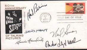 Playwrights signed FDC