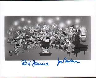 Hannah and Barberra signed photograph