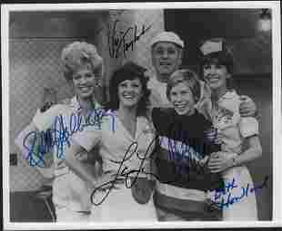 Alice rare full cast signed photograph