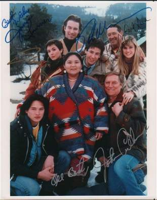 Northern Exposure cast signed photograph