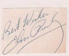 Elvis Presley rare ink signature