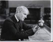 Lon Chaney Sr RARE signed photograph