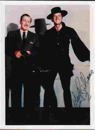 Guy Williams ZORRO signed photograph