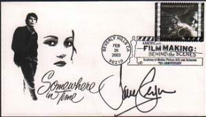 Jane Seymour FDC Somewhere in Time