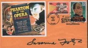Susanna Foster Phantom of the Opera FDC signed