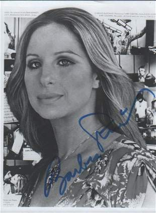Barbra Streisand 8x10