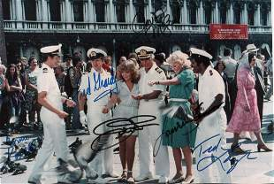 The Love Boat cast signed photograph