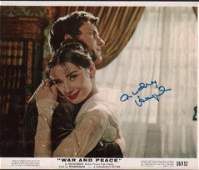 Audrey Heburn orginal signed lobby still