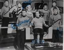 Star Trek Original cast signed photograph