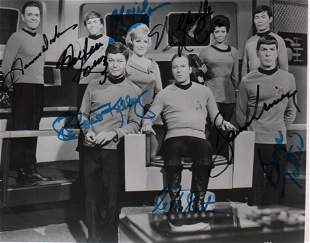 Star Trek Original cast signed photograph