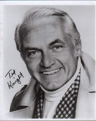 Caddyshacks Ted Knight signed photograph