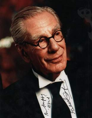 Michael Gough rare Batman as Alfred signed photograph