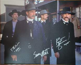 Tombstone Signed by 3