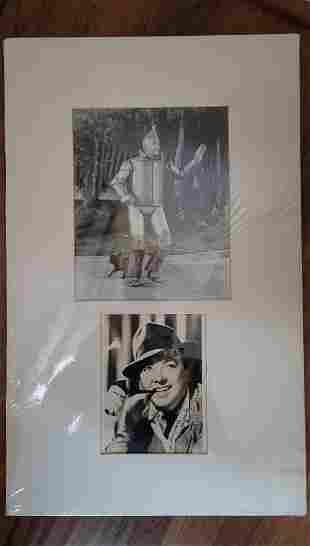 Jack Haley Tin Man Signed Photo