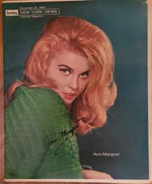 Ann-Margret Signed NY News